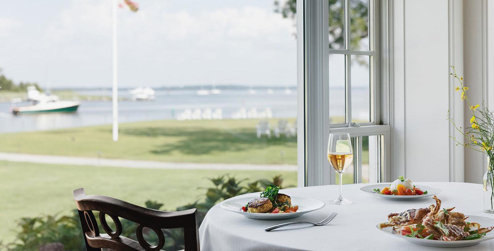 Image of Stars Restaurant, Inn at Perry Cabin in St. Michaels, Maryland, 1816, Member of Historic Hotels of America, Taste