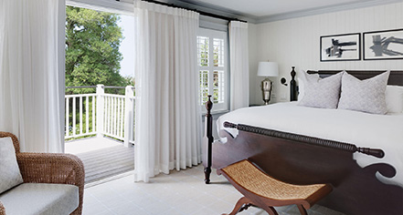 Accommodations:      Inn at Perry Cabin  in St. Michaels