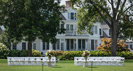 Weddings:      Inn at Perry Cabin  in St. Michaels