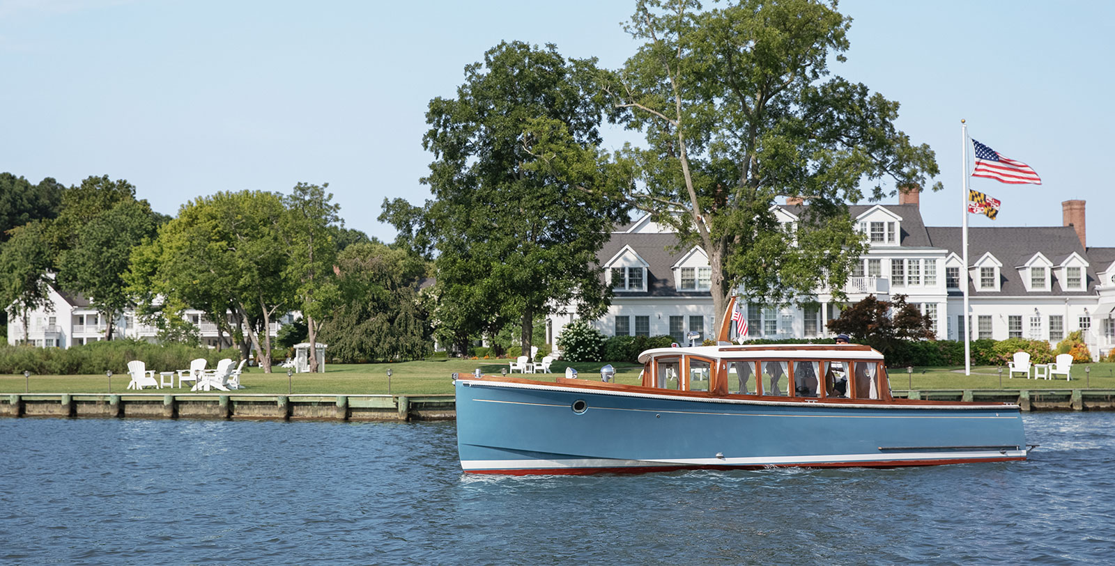 Image of Boating, Inn at Perry Cabin in St. Michaels, Maryland, 1816, Member of Historic Hotels of America, Experience