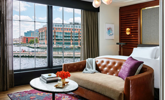 Sagamore Pendry Baltimore  - Accommodations