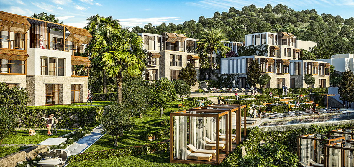 Allium Villas Resort, Bodrum Turkey, Exterior