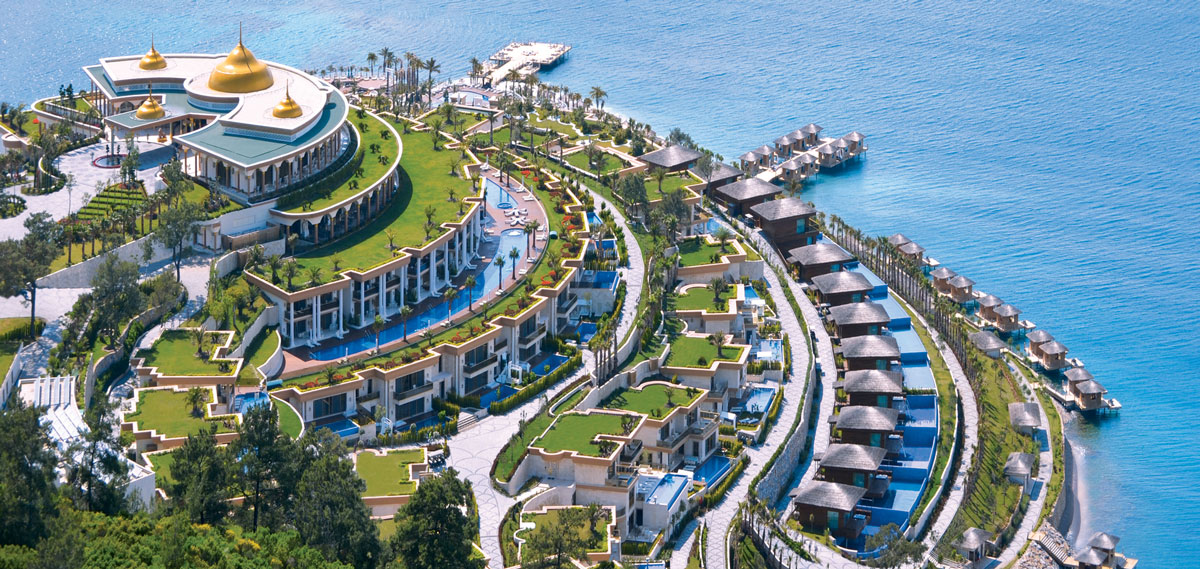THE BODRUM by Paramount Hotels & Resorts, Bodrum Turkey, Hotel Exterior