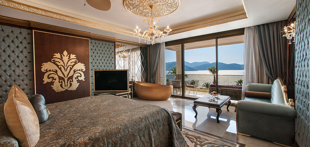 Accommodations:      THE BODRUM by Paramount Hotels & Resorts  in Bodrum