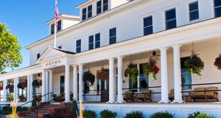 Spa:      Sacajawea Hotel  in Three Forks