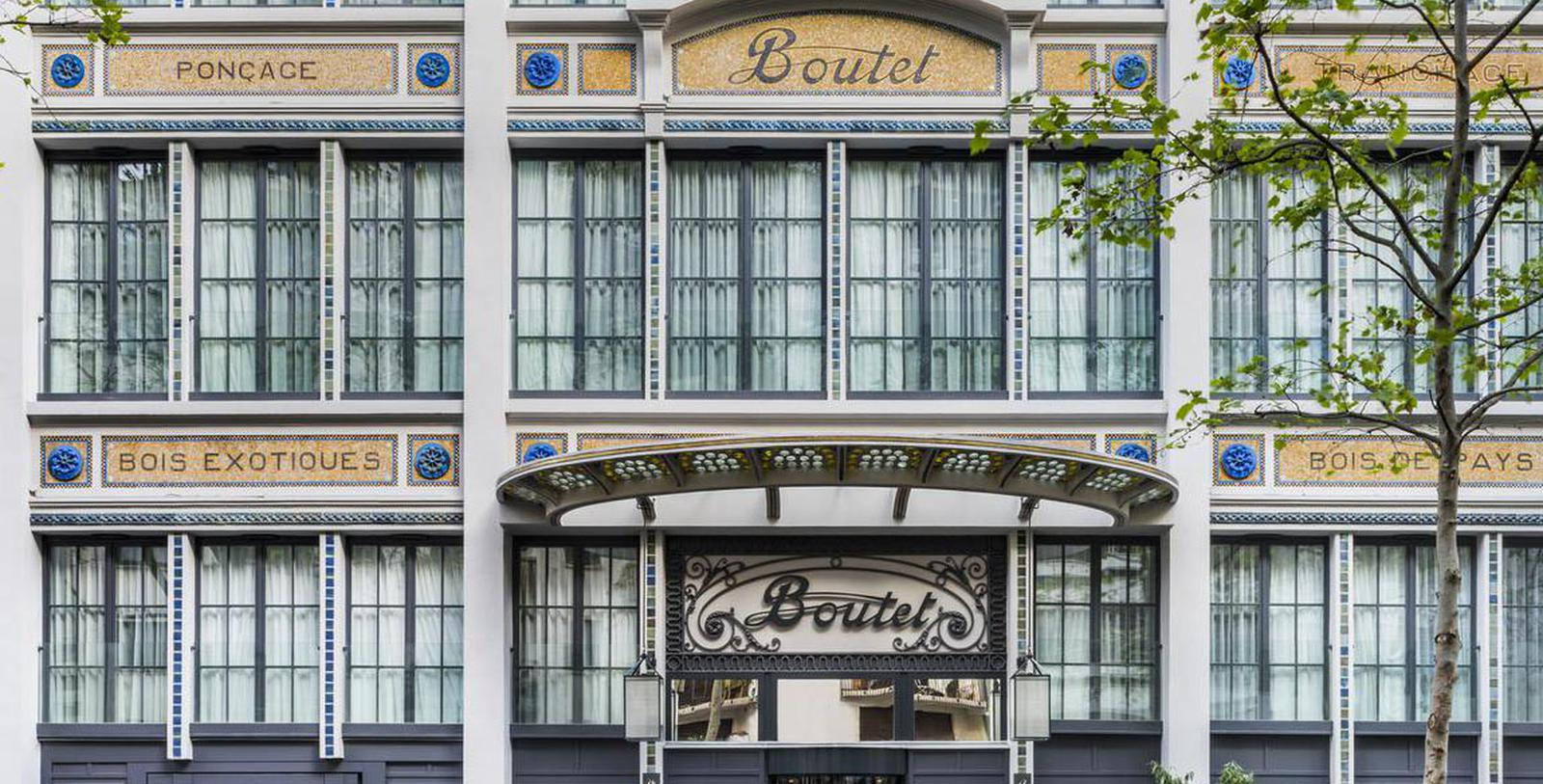 Image of Hotel Exterior Hôtel Paris Bastille Boutet - MGallery by Sofitel, 1926, Member of Historic Hotels Worldwide, in Paris, France, Special Offers, Discounted Rates, Families, Romantic Escape, Honeymoons, Anniversaries, Reunions