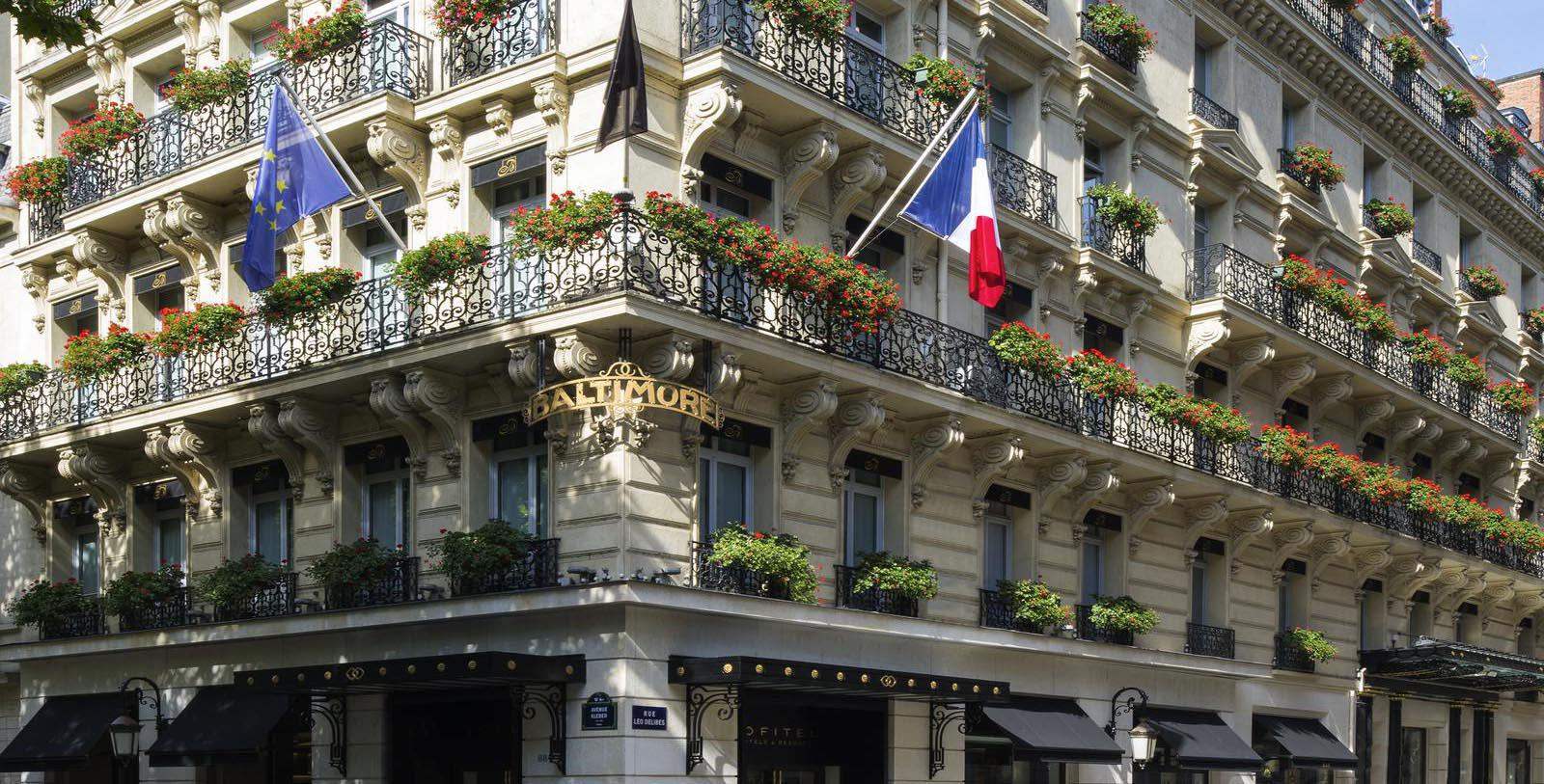 Image of Hotel Exterior Sofitel Paris Baltimore Tour Eiffel, 1892, Member of Historic Hotels Worldwide, in Paris, France, Special Offers, Discounted Rates, Families, Romantic Escape, Honeymoons, Anniversaries, Reunions