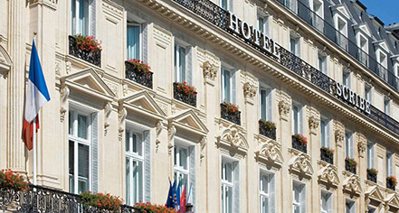 Event Calendar:      Hotel Scribe Paris Opera By Sofitel  in Paris