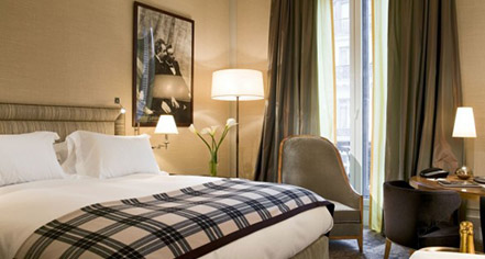 Accommodations:      Hotel Scribe Paris Opera By Sofitel  in Paris