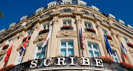 History:      Hotel Scribe Paris Opera By Sofitel  in Paris