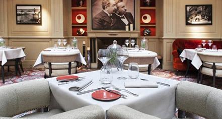 Dining at      Hotel Scribe Paris Opera By Sofitel  in Paris