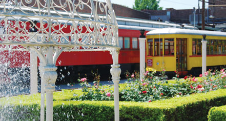 Dining at      The Chattanooga Choo Choo  in Chattanooga