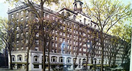 History Hilton Orrington Evanston In