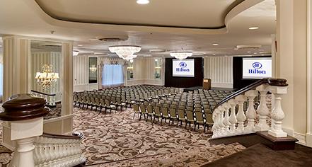Venues & Services:      Hilton Orrington/Evanston  in Evanston