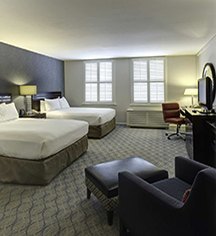 Accommodations:      Hilton Orrington/Evanston  in Evanston