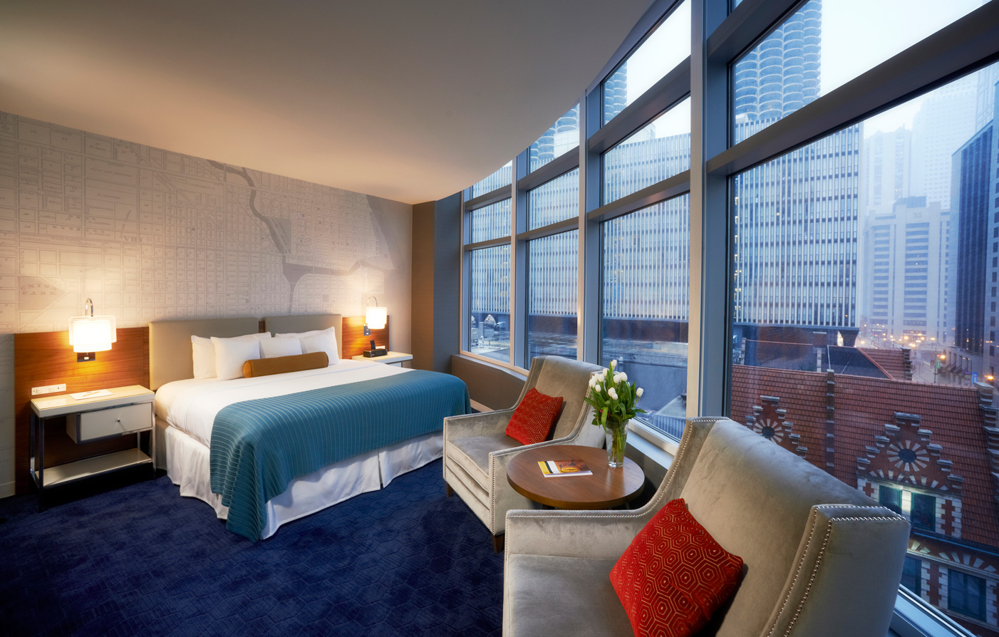 Kinzie hotel chicago downtown hotel preferred hotels for Suites in chicago