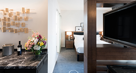 Accommodations:      LondonHouse Chicago  in Chicago