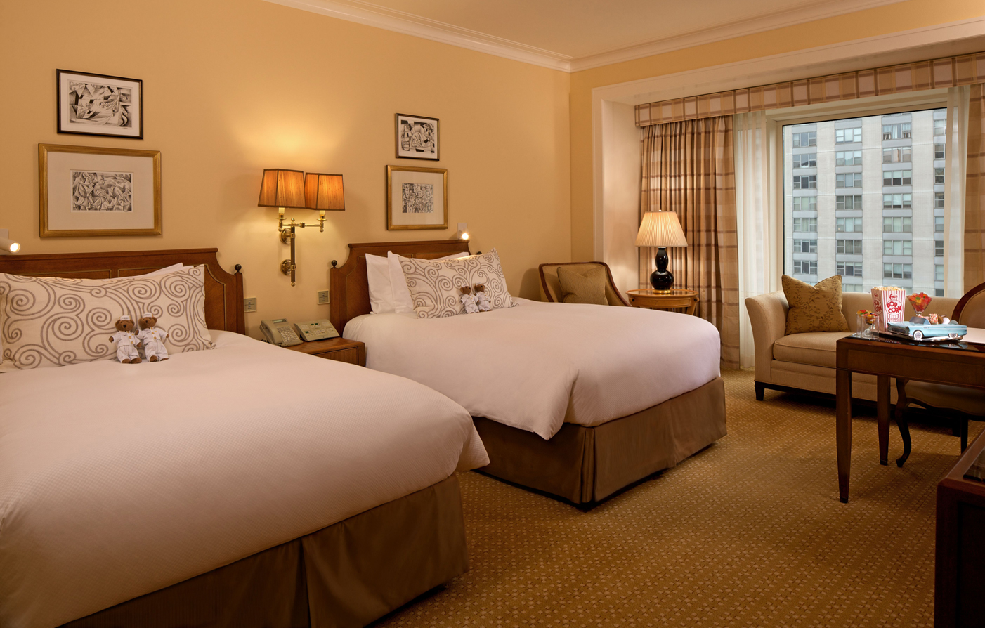Accommodations:      The Peninsula Chicago  in Chicago