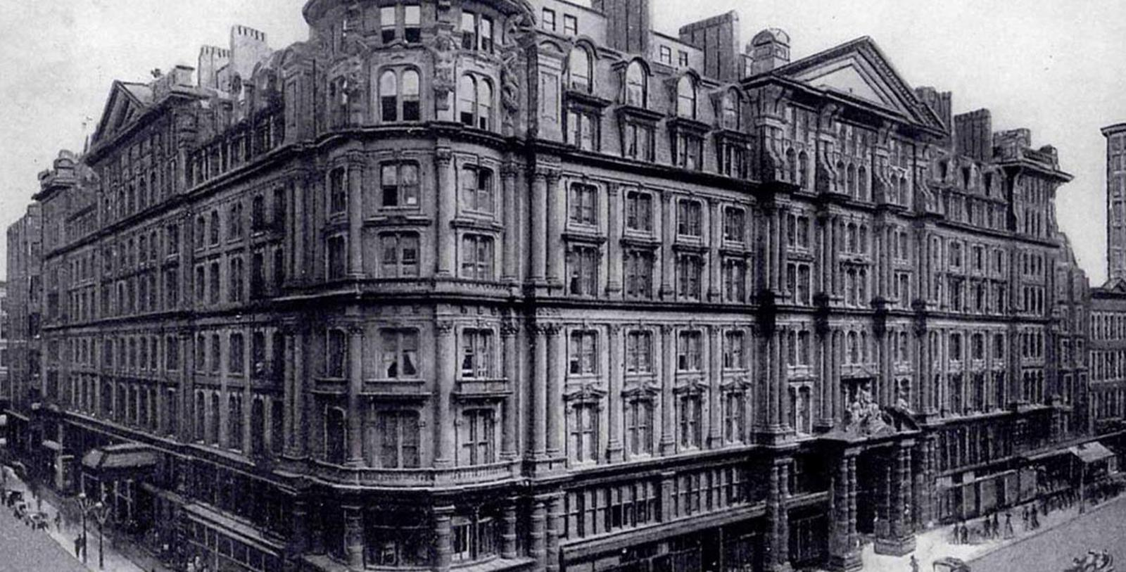 Historic image of Exterior of Palmer House®, A Hilton Hotel, Member of Historic Hotels of America, in Chicago, Illinois, Discover
