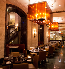 Dining at      Palmer House®, A Hilton Hotel  in Chicago