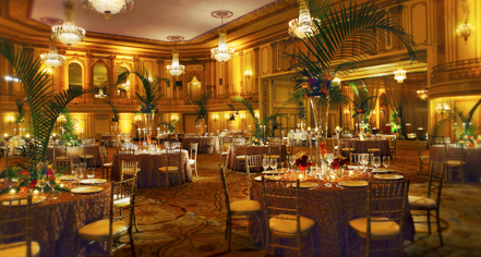 Venues & Services:      Palmer House®, A Hilton Hotel  in Chicago