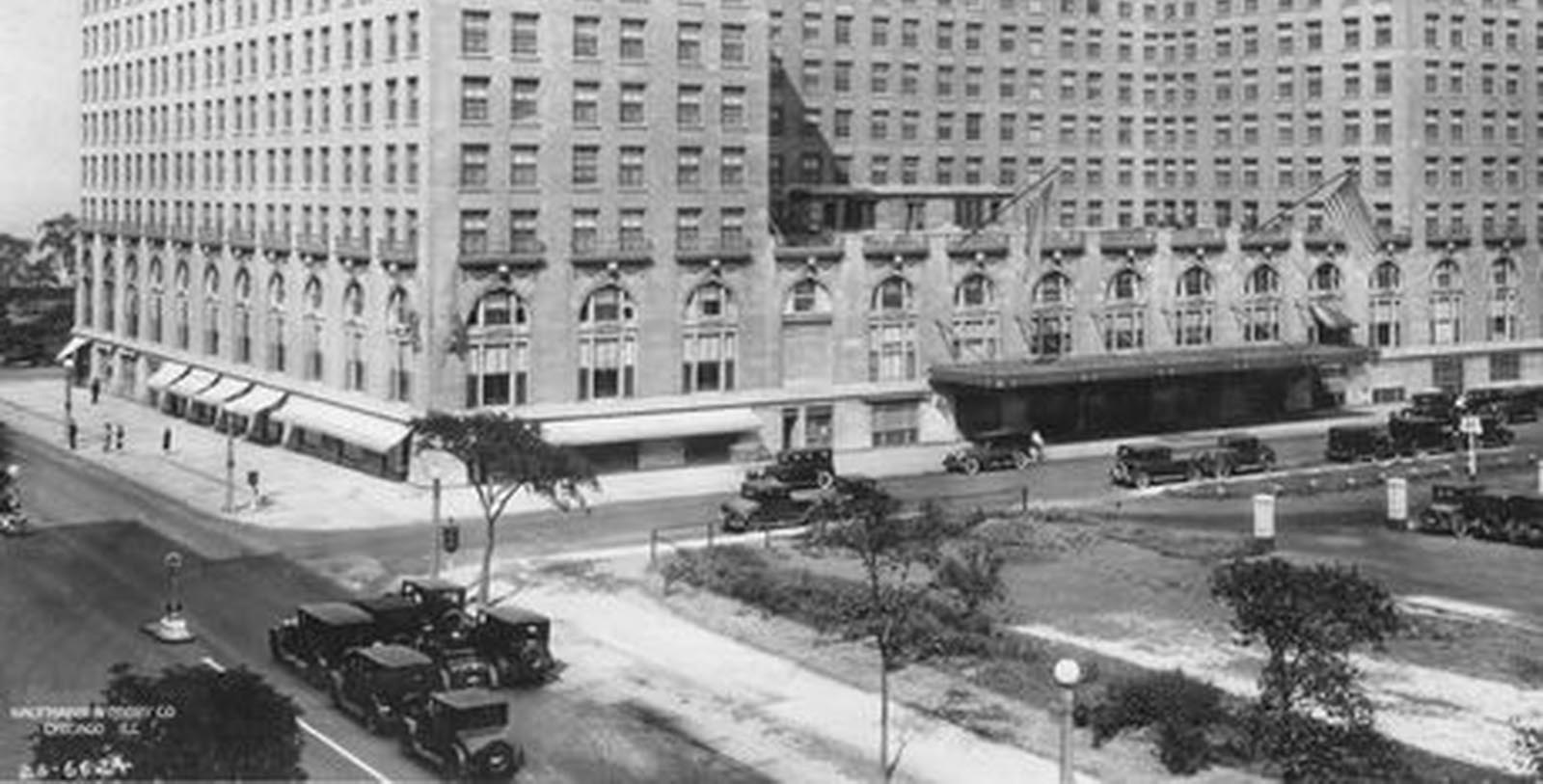 Historic Exterior Image of The Drake, 1920, Member of Historic Hotels of America, in Chicago, Illinois, Discover