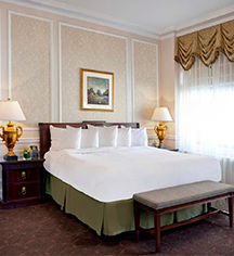 Accommodations:      The Drake Hotel  in Chicago