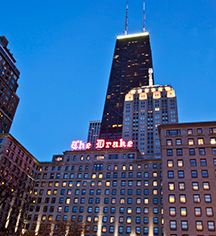 The Drake Hotel  in Chicago