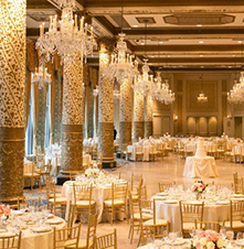 Weddings:      The Drake Hotel  in Chicago