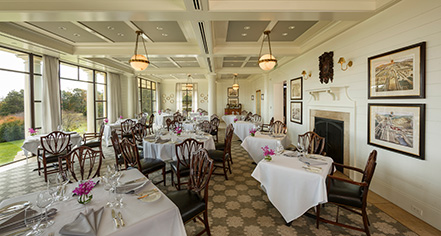 Dining at      Keswick Hall  in Charlottesville