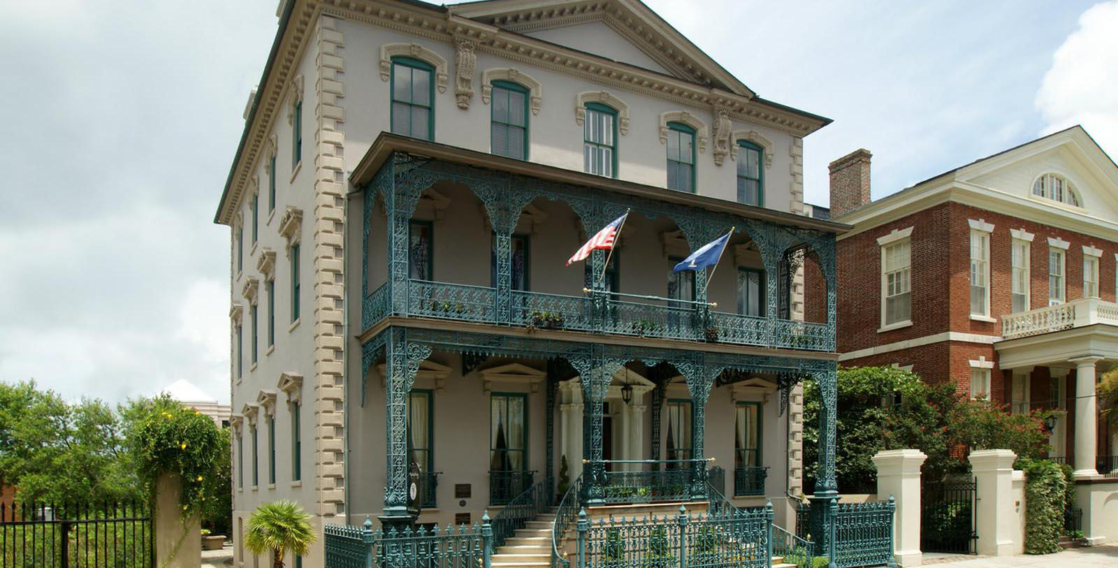 Image of Magnolia's Patio, John Rutledge House Inn in Charleston, South Carolina, 1763, Member of Historic Hotels of America, Taste