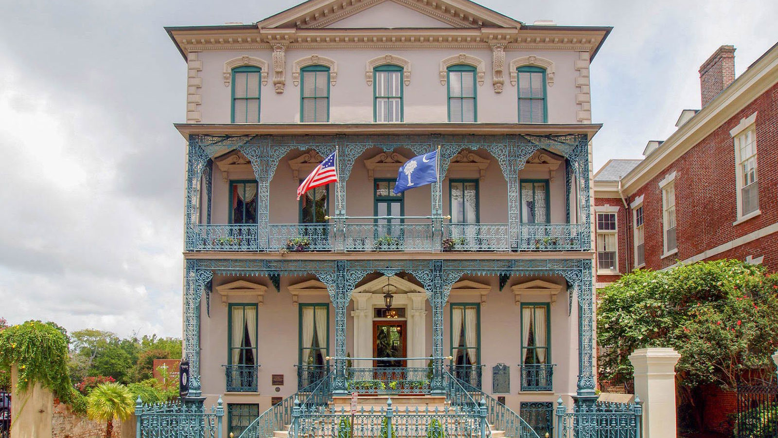 Image of Exterior, John Rutledge House Inn in Charleston, South Carolina, 1763, Member of Historic Hotels of America, Overview