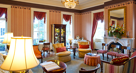 Accommodations:      John Rutledge House Inn  in Charleston