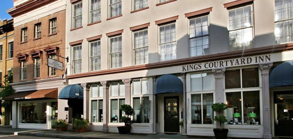 historic hotels in charleston sc kings courtyard inn