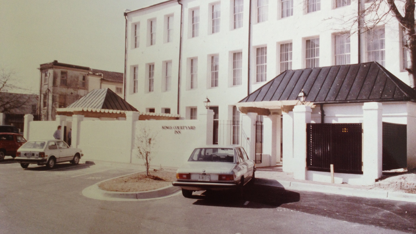 Image of Historic Exterior, Kings Courtyard Inn in Charleston, South Carolina, 1853, Member of Historic Hotels of America, Discover