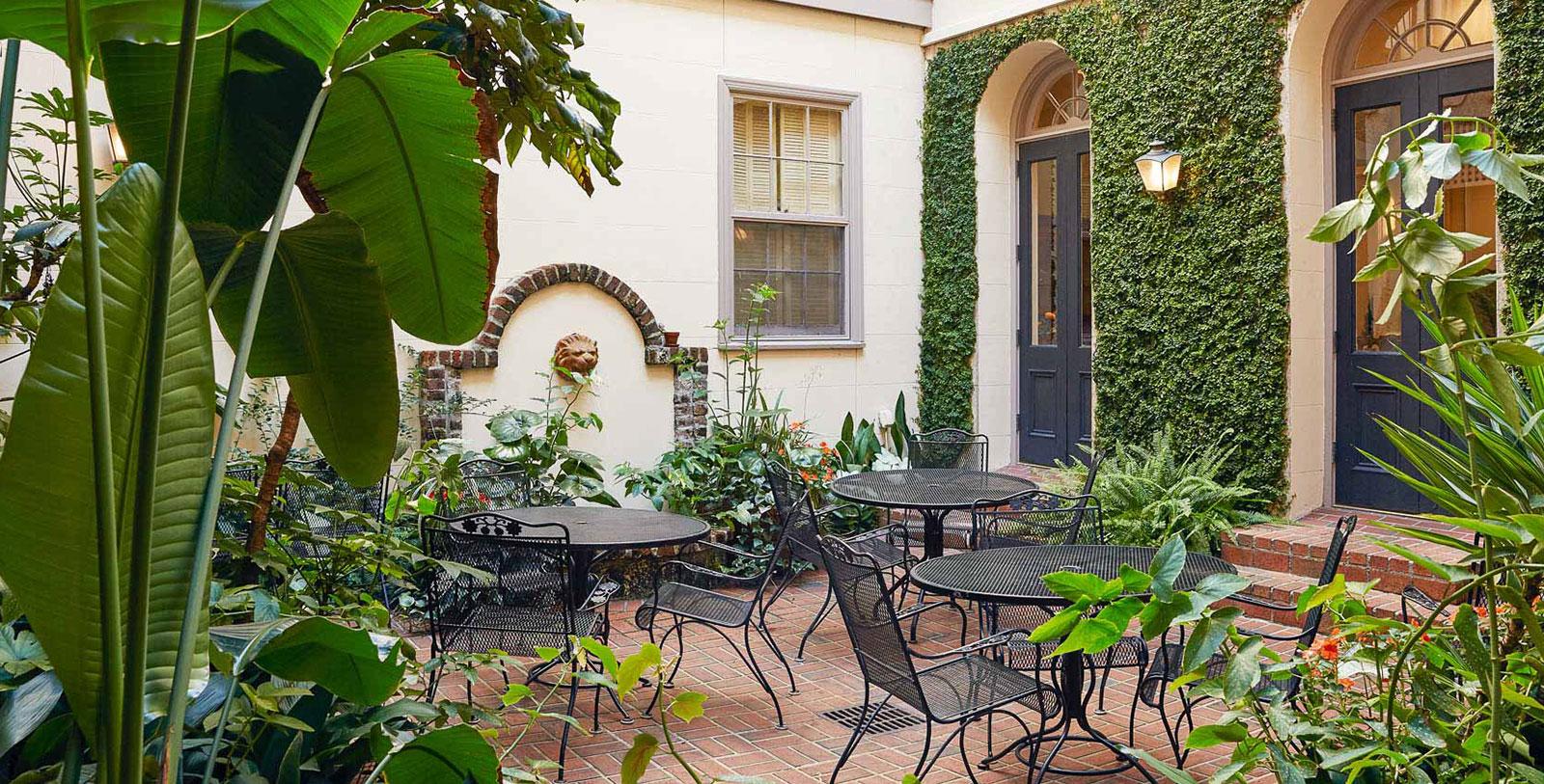 Image of Courtyard, Kings Courtyard Inn in Charleston, South Carolina, 1853, Member of Historic Hotels of America, Hot Deals
