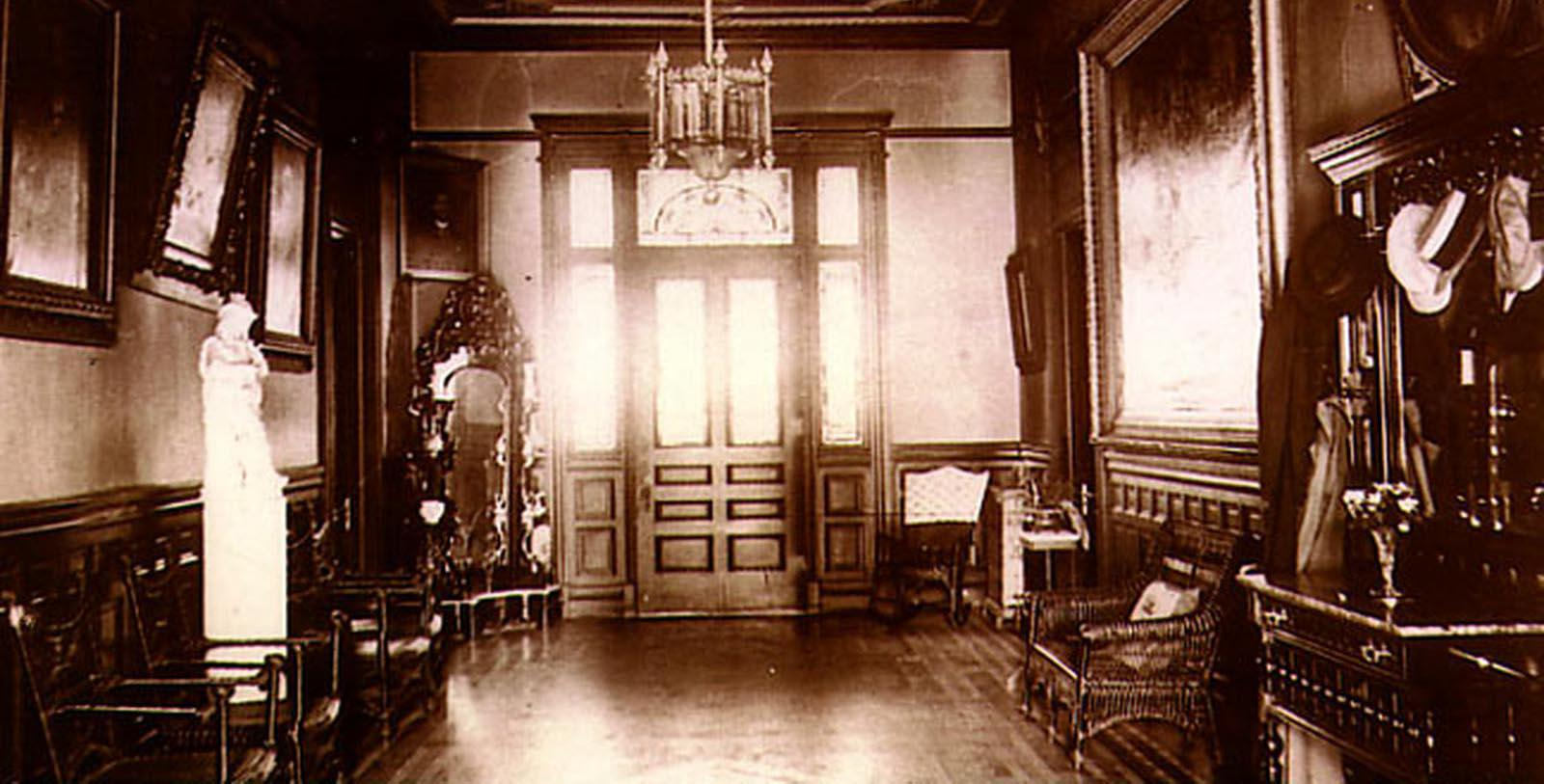 Image of Historic Lobby, Wentworth Mansion, Charleston, South Carolina, 1886, Member of Historic Hotels of America, Discover