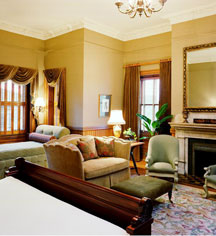 Accommodations:      Wentworth Mansion  in Charleston
