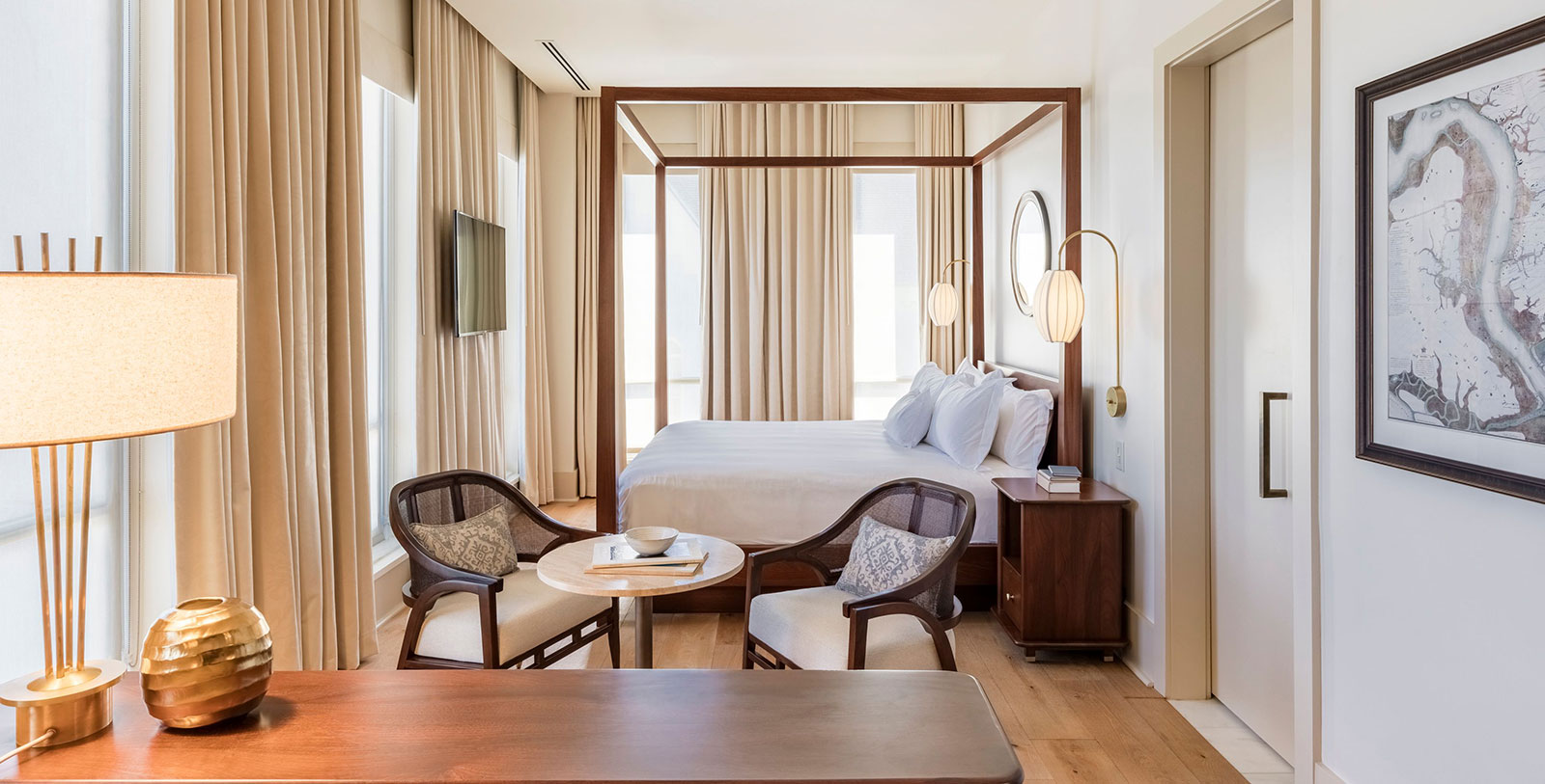 Image of Guestroom Interior The Dewberry, 1964, Member of Historic Hotels of America, in Charleston, South Carolina, Accommodations