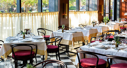 Dining at      The Dewberry  in Charleston