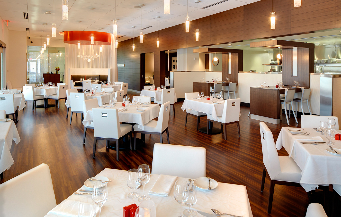 Dining:      The Hotel at Kirkwood Center  in Cedar Rapids
