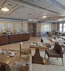 Dining at      The Tudor Arms Hotel Cleveland - a DoubleTree by Hilton  in Cleveland