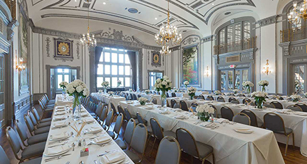 Weddings:      The Tudor Arms Hotel Cleveland - a DoubleTree by Hilton  in Cleveland
