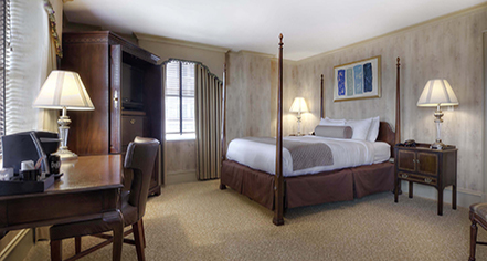 Accommodations:      The Dunhill Hotel  in Charlotte