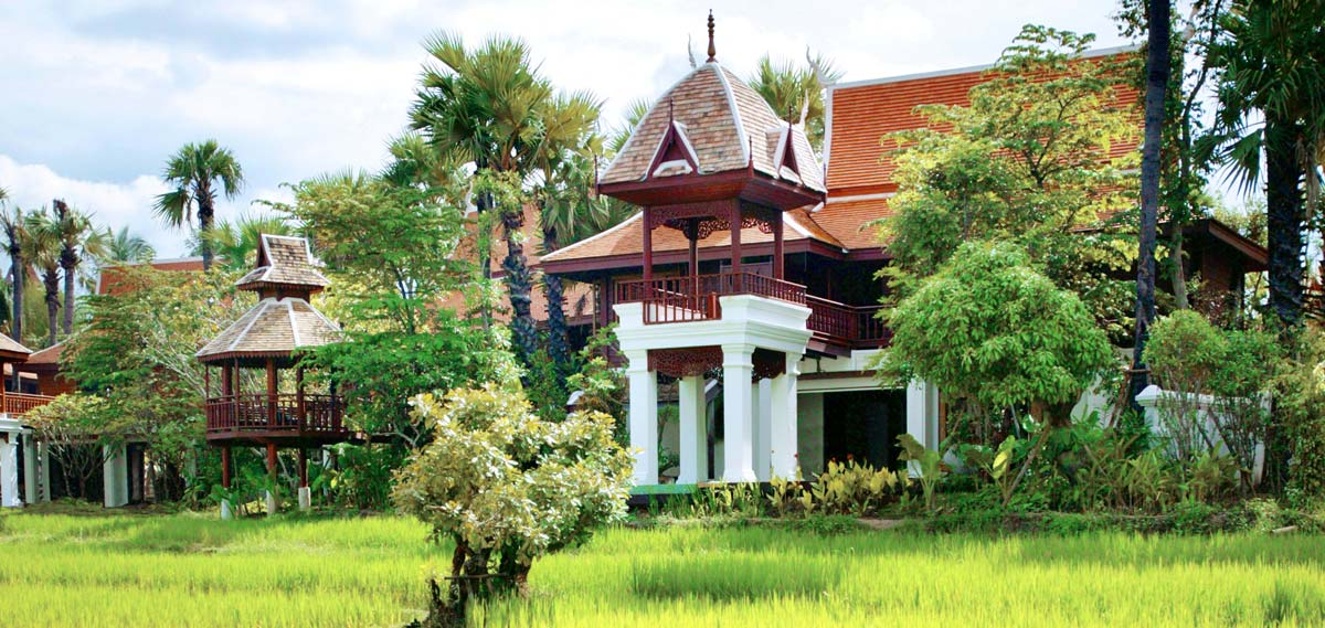 Accommodations:      The Dhara Dhevi Chiang Mai  in Chiang Mai