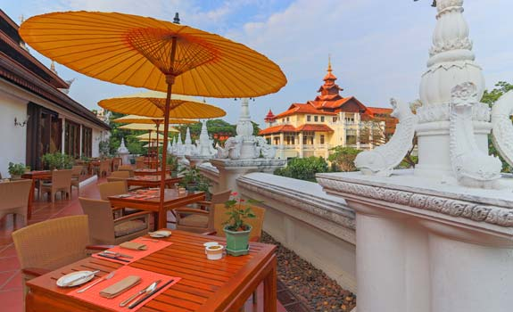 The Dhara Dhevi Chiang Mai  - Dining