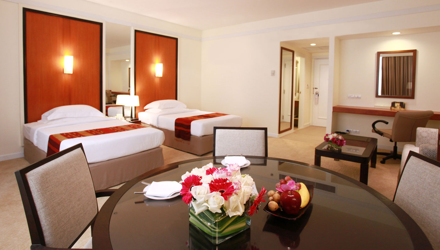 Accommodations:      Dusit Princess Chiang Mai  in Chiang Mai