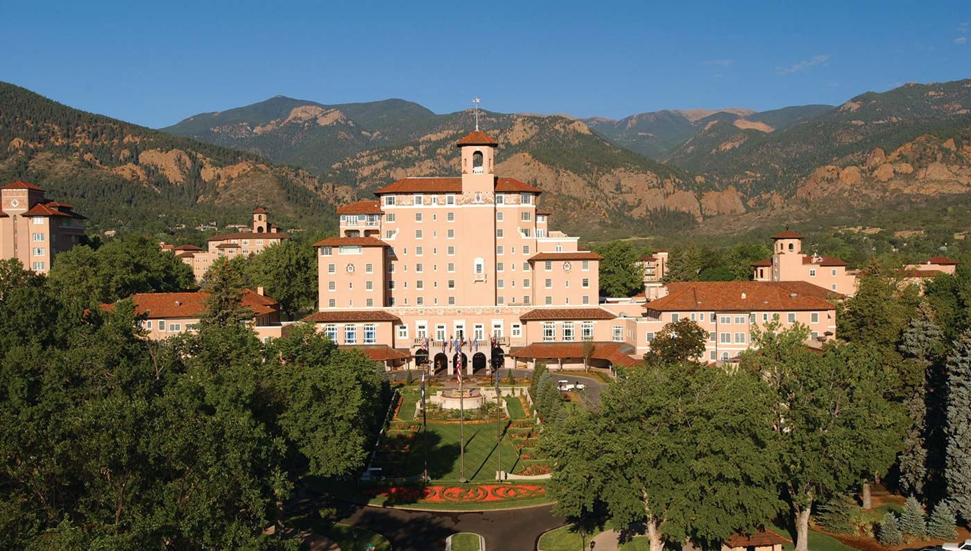 Activities:      The Broadmoor  in Colorado Springs
