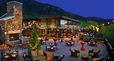 Venues & Services:      The Broadmoor  in Colorado Springs