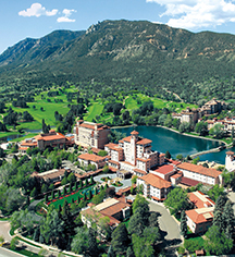 The Broadmoor  in Colorado Springs